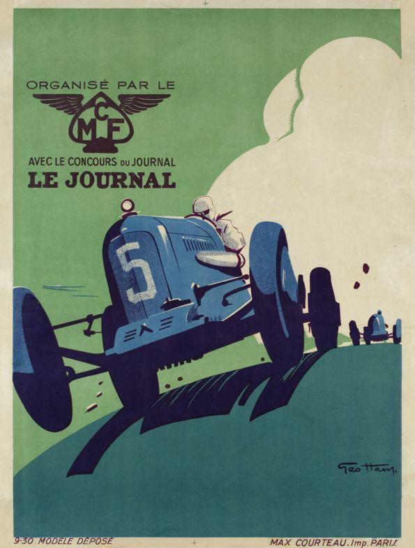 Grand Prix automobile organisé par le MCF et Le Journal (by Ham Geo / 1930)