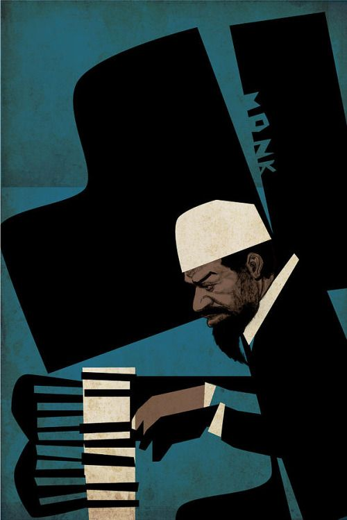 Thelonious Monk by Thomas Seltzer