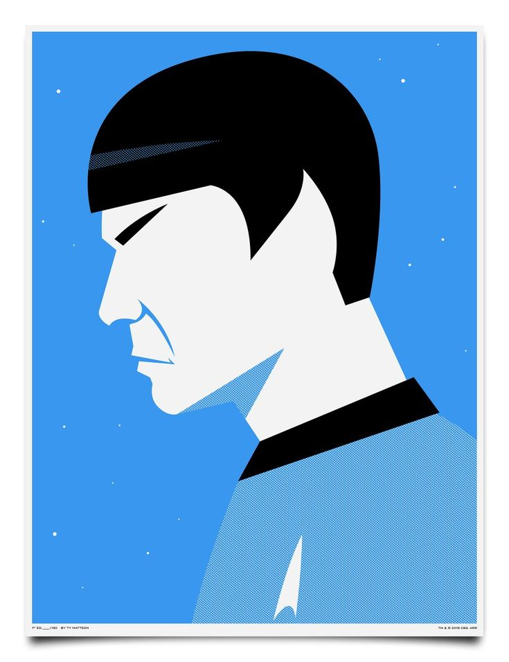 Spock by Mattson Creative