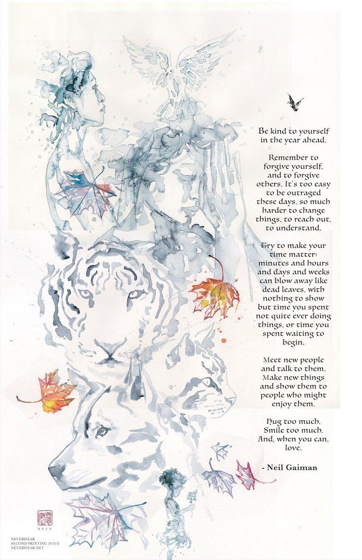 Neil Gaiman's New Year Tiger Wish illustrated by David Mack