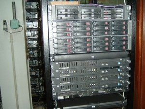 HP servers at School of Electrical Engineering, University of Belgrade