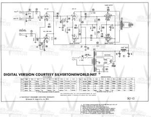 Silvertone World  Division 57  Schematics, Manuals and