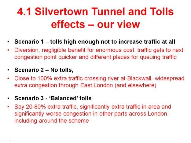 John Elliott on East London River Crossings - Slide 13