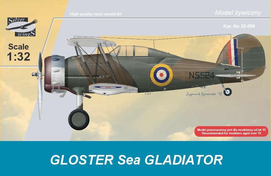 Resultado de imagen de gloster gladiator model kit