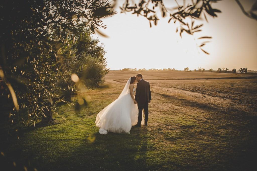 tenuta san liberato - ritratto sposi - matrimonio a roma