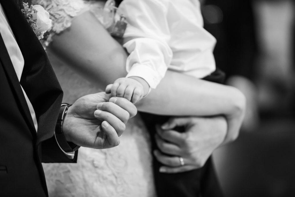 Foto di matrimoni con figlio