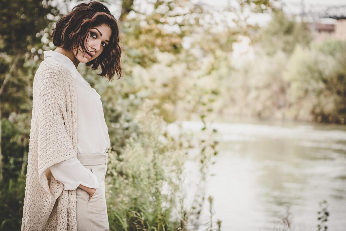 Ritratto ambientato - autunno a Roma Valeria Spada