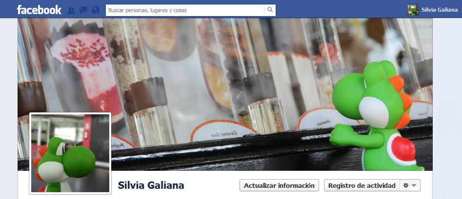 Configurar el perfil de Facebook