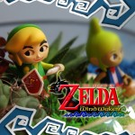 Diorama casero de The Legend of Zelda: The Windwaker como centro de mesa