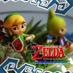 Diorama casero de The Legend of Zelda: The Windwaker como centro de mesa