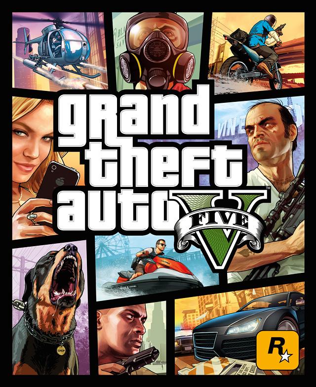 Portada Oficial GTA V
