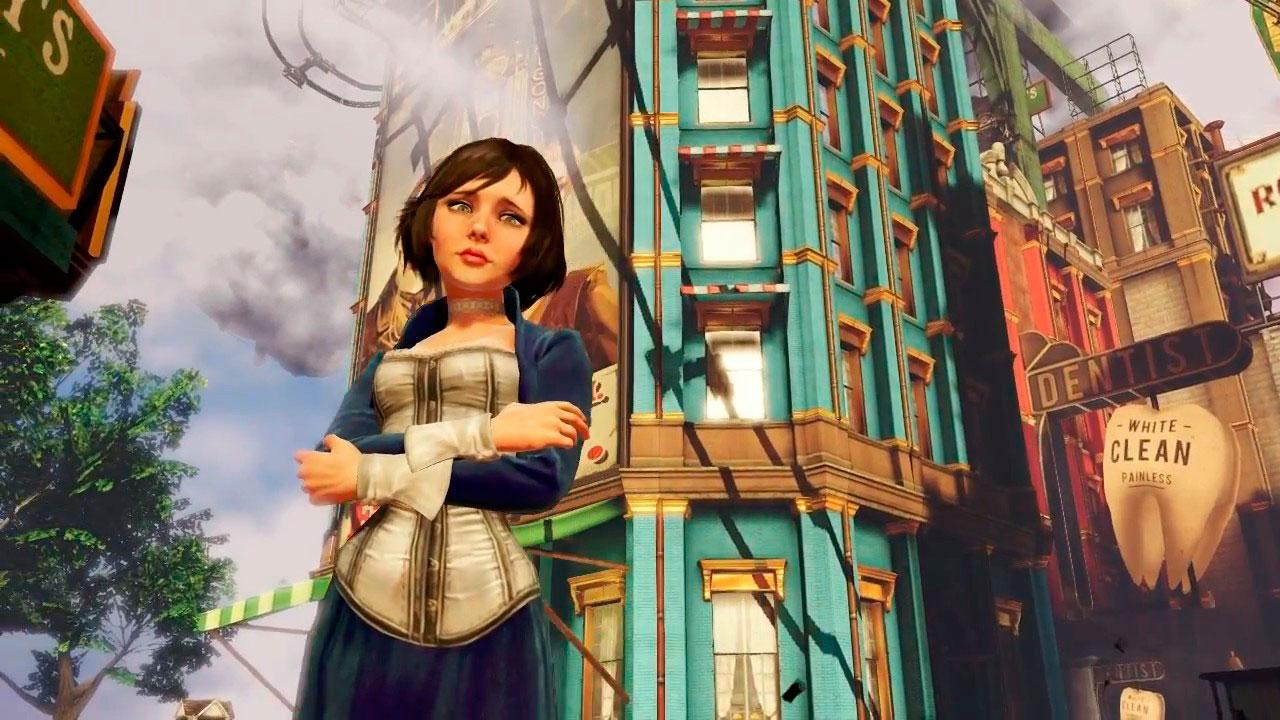 Elizabeth en Bioshock Infinite.