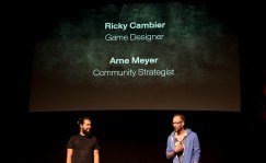 Ricky Cambier y Arne Meyer de Naughty Dog