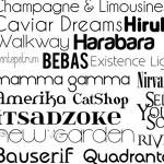 [Infografía] Top 10 Fonts para Diseñadores Web