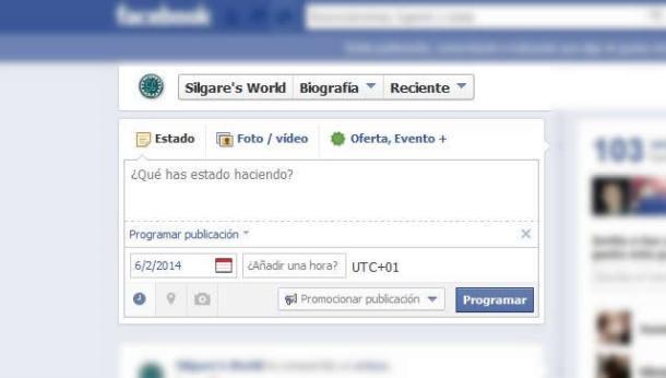 Programar en Facebook
