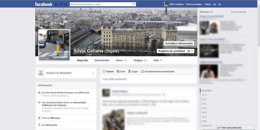 Problemas con barra de Facebook