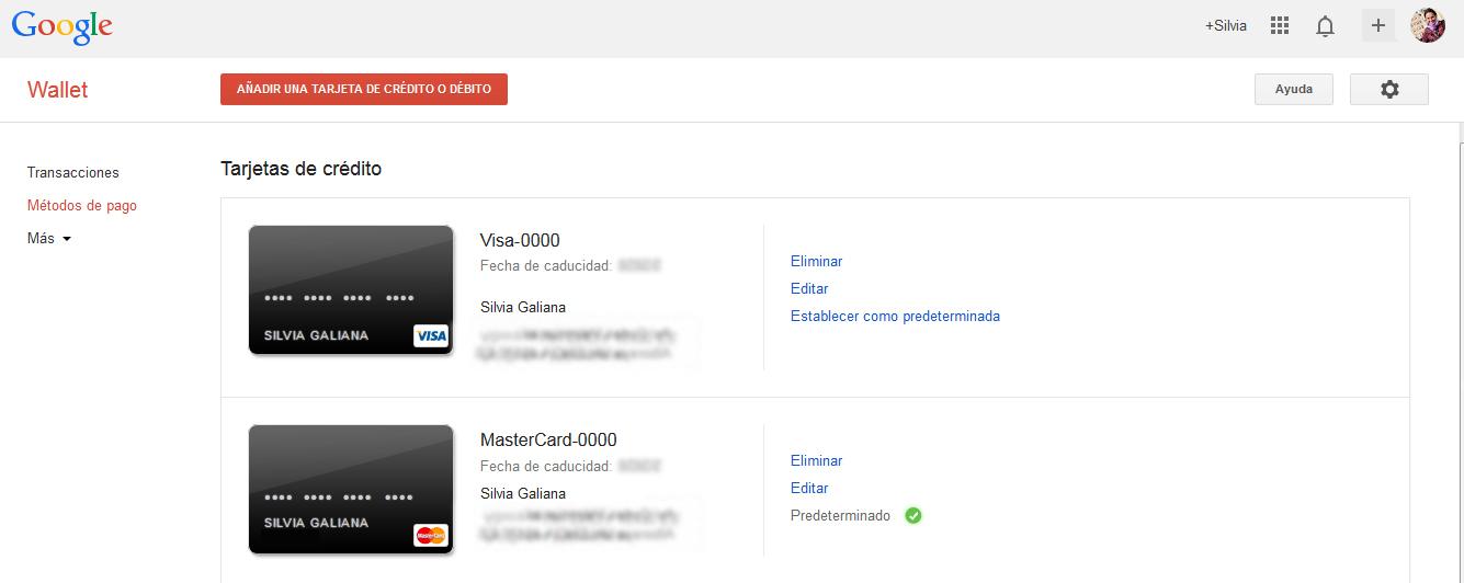 Cómo borrar una tarjeta de Google Play
