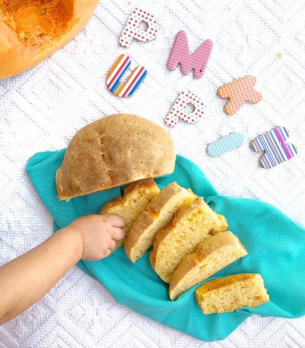 Il pane di zucca: Prima ricetta per un menù a tema.