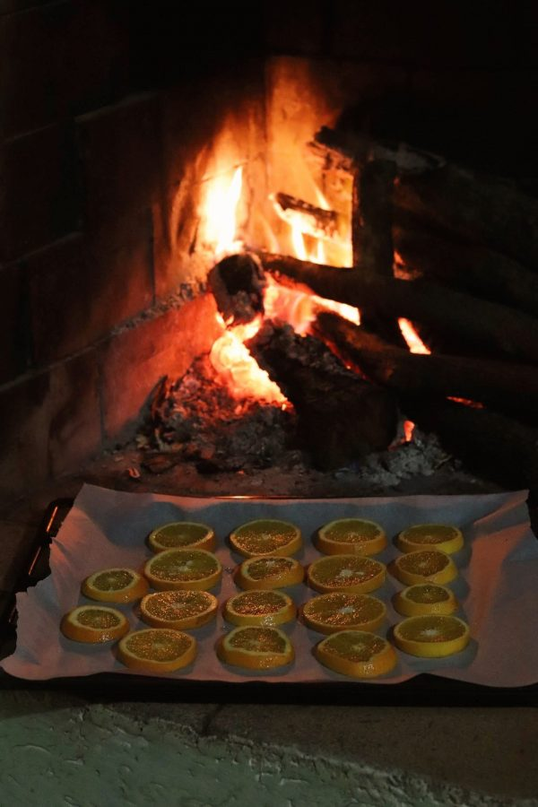 arance essiccate per decorazioni