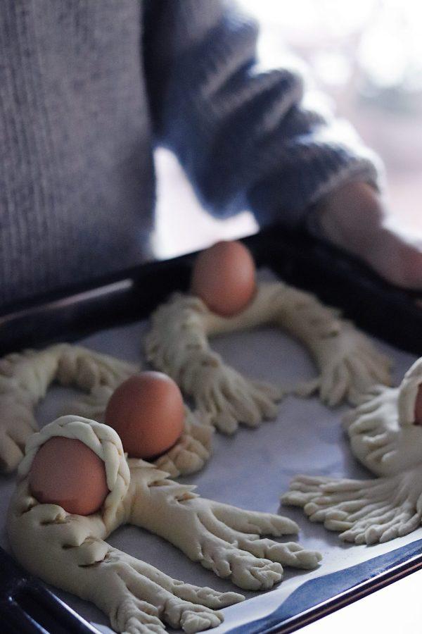 ricetta pane pasqua Sardegna