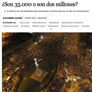Huelga noticia El País