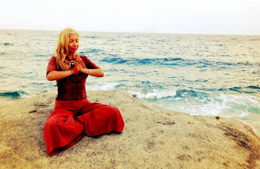 Meditate and Lessen the Drama by Silvia Mordini
