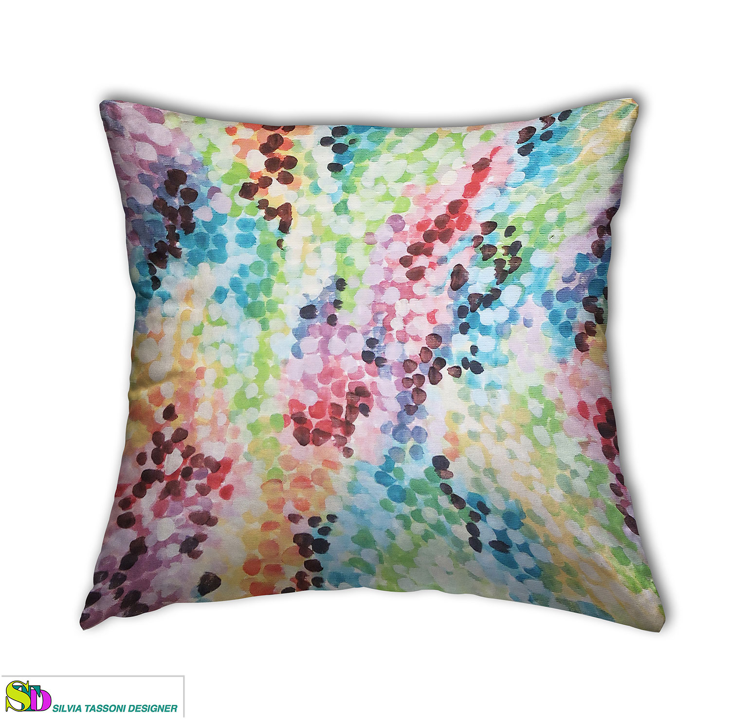pillows textile design abstract style