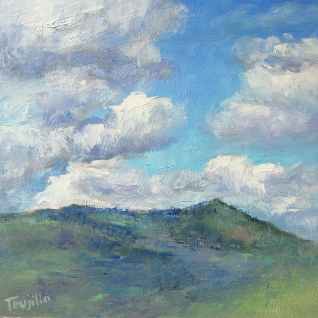 """Turbulence over Grizzly Peak"" © 2017 Silvia Trujillo Art"