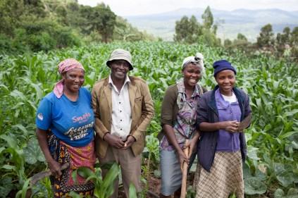 Silvio Palladino Documentary Photography bean farmers kenya
