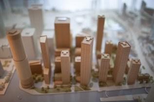 silvio palladino corporate event photographer architecture model, London, skyscrapers Canary Wharf