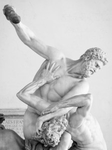 Hercules and Nessus by Gianbologna