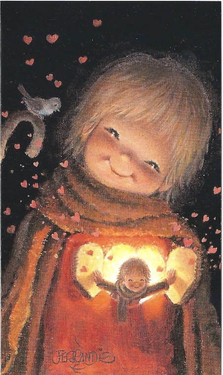 Navidad Ferrandiz Coleccin Navidad Cards Illustration