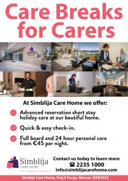 Respite Advert - Care Breaks for Carers