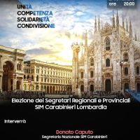 SIM Carabinieri Milano: sindacalizzazione dell'Arma ed elezione segretari SIM Lombardia