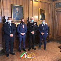 Il Comandante Generale dell'Arma dei Carabinieri incontra il primo Sindacato delle Forze Armate.