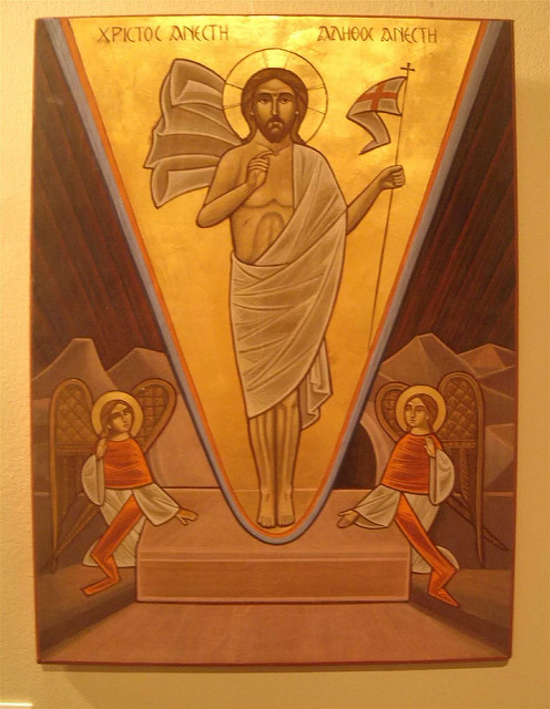 Christ is risen and the demons are cast down!
