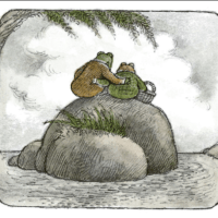 Frog and Toad are their own right size