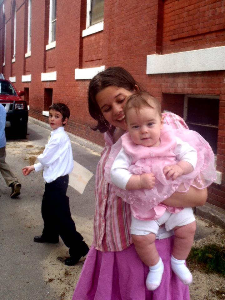 Why do I take my noisy little kids to Mass?