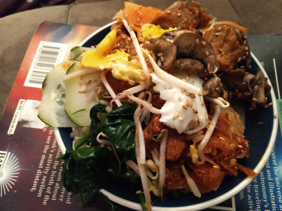What's for supper? Vol. 115: If you believe in yourself, you can bibimbap.