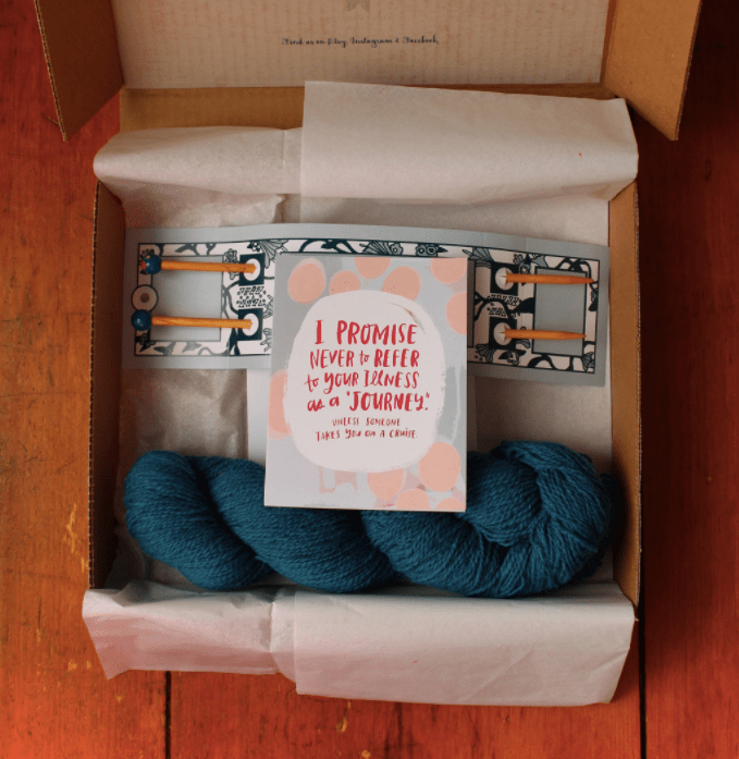 Hospitality and Resurrection: Full Hands Boxes and more from Bethany Farm Knits