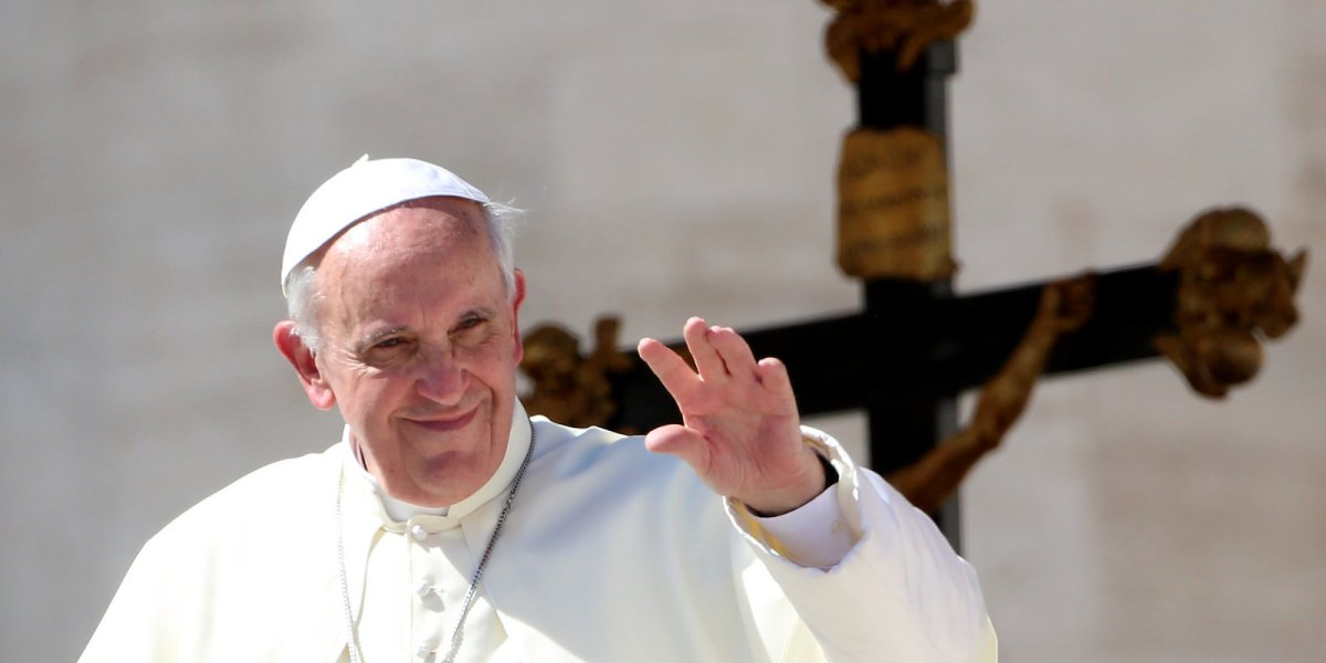 "What does Pope Francis mean by ""embrace?"""