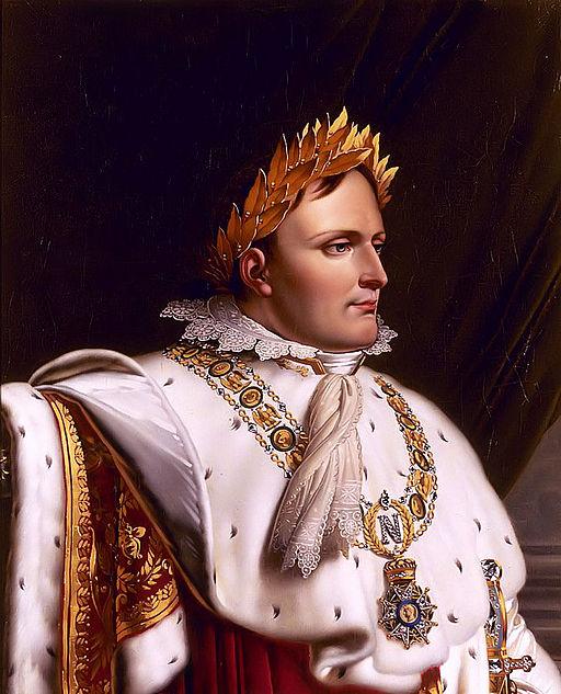 Napoleon at the baptismal font