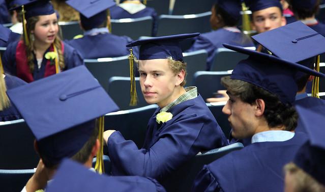 My dear graduates . . .