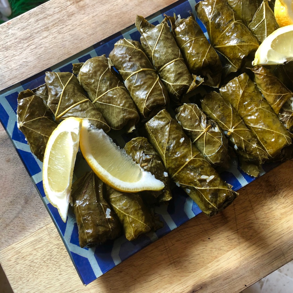 What's for supper? Vol. 179: Stuffed grape leaves and Käsewegfall