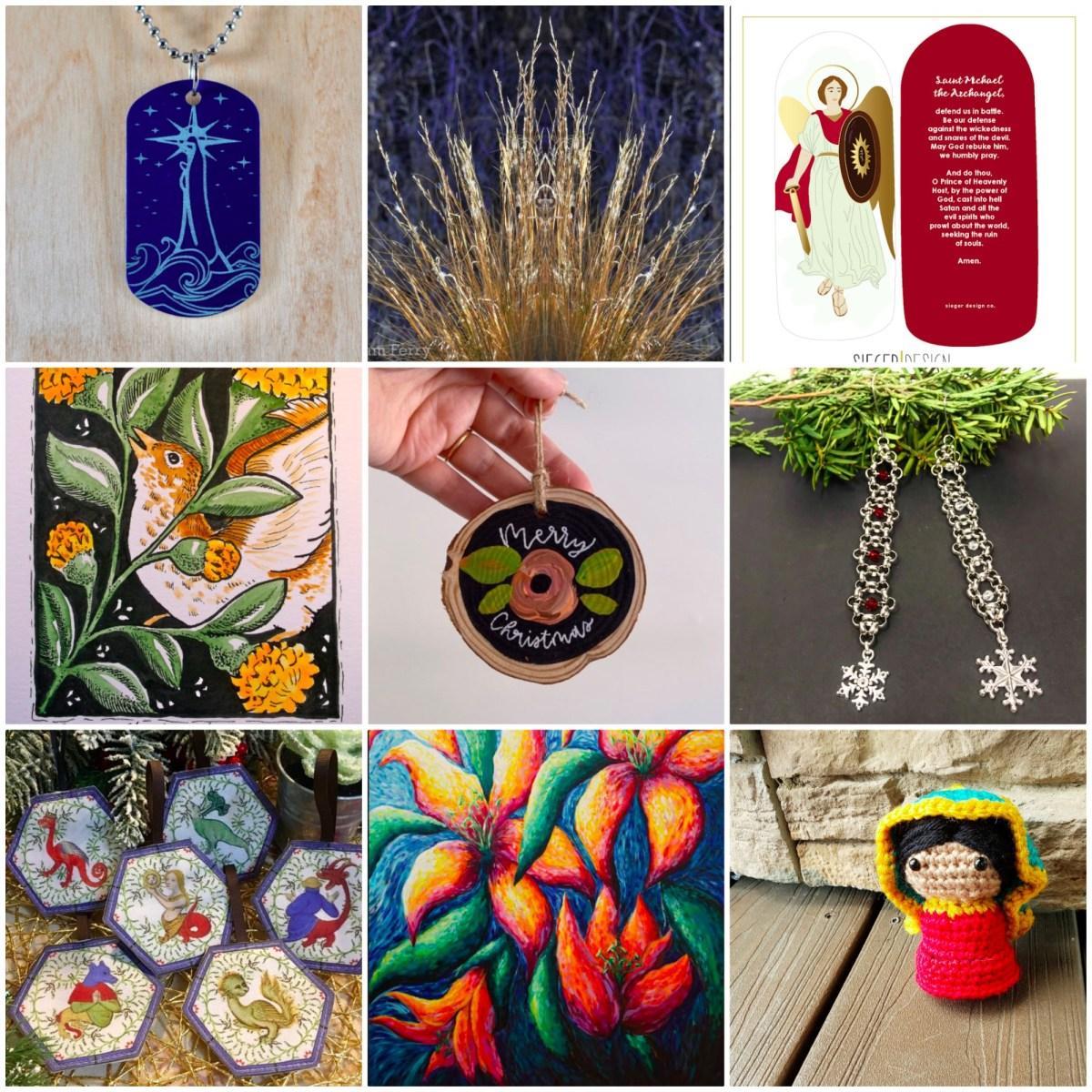 2019 Catholic fine art and handmade gift guide!