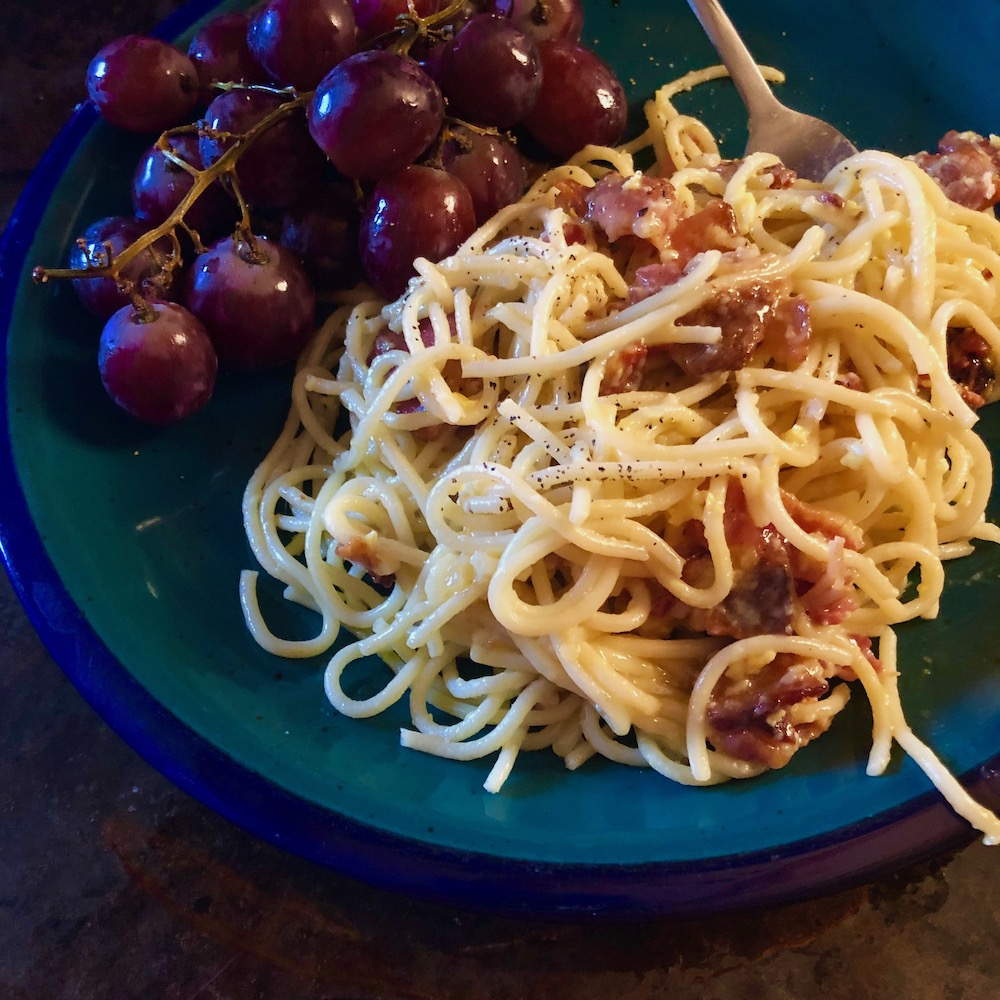 What's for supper? Vol. 210: Carbonara, yes.