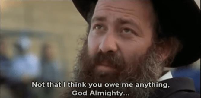 Lent movie review #1: USHPIZIN