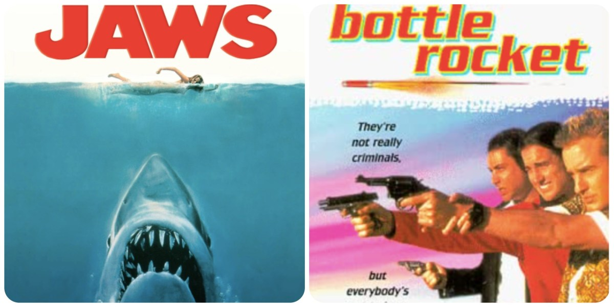 Double Feature with the Fishers, Episode 5: JAWS and BOTTLE ROCKET