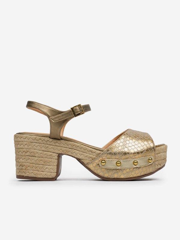 Tonina04, Todos los zapatos, Sandalias de Tacón, ORO_L