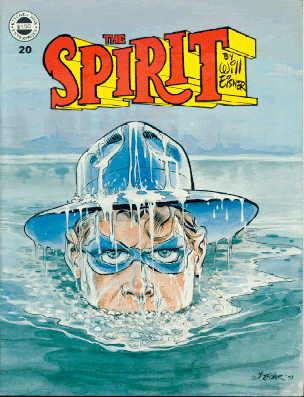 Der Spirit im Comic